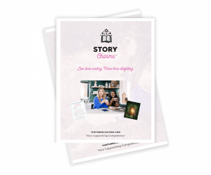 Story Charms Booklet Mockup